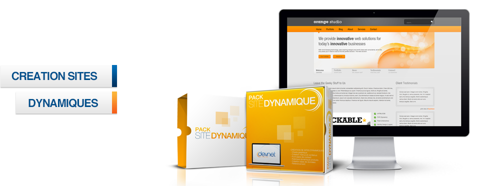 Pack Creation Site Dynamique